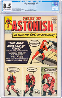 Tales to Astonish #43 (Marvel, 1963) CGC VF+ 8.5 Off-white to white pages