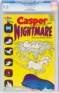 Casper and Nightmare #14 (Harvey, 1966) CGC NM/MT 9.8 Off-white to white pages