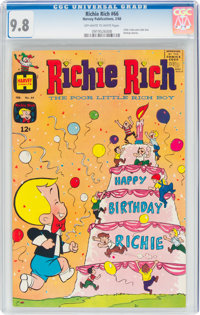 Richie Rich #66 (Harvey, 1968) CGC NM/MT 9.8 Off-white to white pages