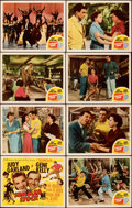 """Movie Posters:Musical, Summer Stock (MGM, 1950). Very Fine-. Lobby Card Set of 8 (11"""" X 14"""").. ... (Total: 8 Items)"""