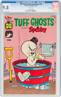 Tuff Ghosts Starring Spooky #36 File Copy (Harvey, 1969) CGC NM/MT 9.8 White pages