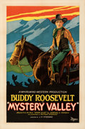 Movie Posters:Western, Mystery Valley (Rayart Pictures, 1928). Fine/Very Fine on ...