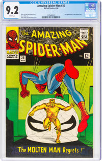 The Amazing Spider-Man #35 (Marvel, 1966) CGC NM- 9.2 White pages