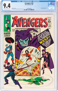 The Avengers #26 (Marvel, 1966) CGC NM 9.4 Off-white to white pages