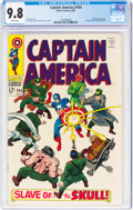 Silver Age (1956-1969):Superhero, Captain America #104 (Marvel, 1968) CGC NM/MT 9.8 White pages....