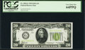 Small Size:Federal Reserve Notes, Fr. 2054-G $20 1934 Light Green Seal Federal Reserve Note. PCGS Very Choice New 64PPQ.. ...