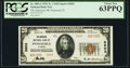 Pensacola, FL - $20 1929 Ty. 2 The American National Bank Ch. # 5603 PCGS Choice New 63PPQ