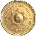 India:British India, India: British India. Manilal Chimanlal & Co. Private gold Tola ND (1940) MS62 NGC,...
