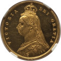 Great Britain, Great Britain: Victoria gold Proof 1/2 Sovereign 1887 PR62 Ultra Cameo NGC,...