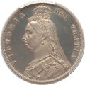 Great Britain: Victoria Proof 1/2 Crown 1887 PR61 Deep Cameo PCGS