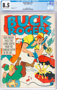 Buck Rogers #3 (Eastern Color, 1941) CGC VF+ 8.5 Cream to off-white pages