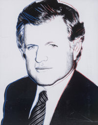 Andy Warhol (1928-1987) Edward Kennedy, 1980 Screenprint in colors with diamond dust on Lenox Museum board 40 x 32 in