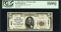 National Bank Notes:Wisconsin, Eau Claire, WI - $5 1929 Ty. 1 The Union National Bank Ch. # 8281 PCGS Choice About New 55PPQ.. ...