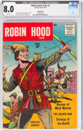 Silver Age (1956-1969):Adventure, Robin Hood Tales #2 Bethlehem Pedigree (Quality, 1956) CGC VF 8.0 White pages....