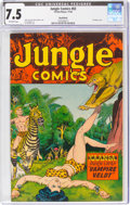 Golden Age (1938-1955):Adventure, Jungle Comics #83 Rockford Pedigree (Fiction House, 1946) CGC VF- 7.5 Off-white pages....