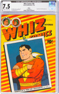 Golden Age (1938-1955):Superhero, Whiz Comics #48 Eldon Pedigree (Fawcett Publications, 1943) CGC VF- 7.5 Off-white to white pages....