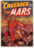 Golden Age (1938-1955):Science Fiction, Crusader from Mars #1 (Ziff-Davis, 1952) Condition: VG-....