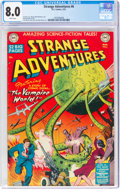 Golden Age (1938-1955):Science Fiction, Strange Adventures #6 (DC, 1951) CGC VF 8.0 White pages....