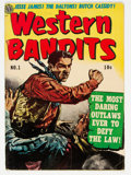 Golden Age (1938-1955):Western, Western Bandits #1 (Avon, 1952) Condition: VG....