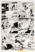Dick Ayers and Jack Abel Freedom Fighters #14 Story Page 9 Original Art (DC Comics, 1978)