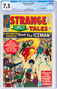 Strange Tales #120 (Marvel, 1964) CGC VF- 7.5 White pages
