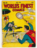 Golden Age (1938-1955):Superhero, World's Finest Comics #25 (DC, 1946) Condition: VG-....