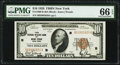 Fr. 1860-B $10 1929 Federal Reserve Bank Note. PMG Gem Uncirculated 66 EPQ