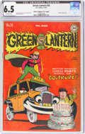 "Golden Age (1938-1955):Superhero, Green Lantern #24 Davis Crippen ('D"" Copy) Pedigree (DC, 1947) CGC FN+ 6.5 Off-white pages...."