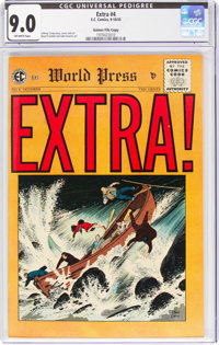 Extra! #4 Gaines File Copy 12/12 (EC, 1955) CGC VF/NM 9.0 Off-white pages