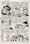 Original Comic Art:Panel Pages, Dick Ayers and John Tartaglione Sgt. Fury #31 Story Page 3 Original Art (Marvel Comics, 1966). ...