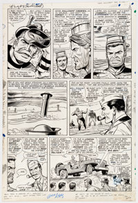 Dick Ayers and John Tartaglione Sgt. Fury #31 Story Page 3 Original Art (Marvel Comics, 1966)