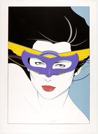 Patrick Nagel - Limited Edition Signed Serigraph #42/50 (Mirage Editions, 190)