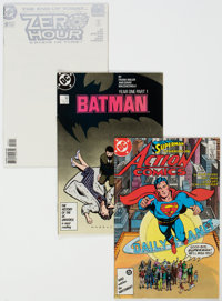DC Modern Age Box Lot Group (DC, 1980-2015) Condition: Average NM-.... (Total: 4 Box Lots)