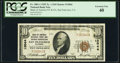 National Bank Notes:California, San Francisco, CA - $10 1929 Ty. 1 Bank of America National Trust & Savings Assoc Ch. # 13044 PCGS Extremely Fine 40....