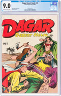 Golden Age (1938-1955):Adventure, Dagar, Desert Hawk #20 (Fox Features Syndicate, 1948) CGC VF/NM 9.0 Off-white to white pages....