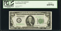 Fr. 2152-A $100 1934 Dark Green Seal Federal Reserve Note. PCGS Gem New 65PPQ