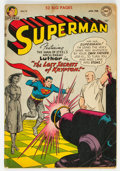 Golden Age (1938-1955):Superhero, Superman #74 (DC, 1952) Condition: VG....
