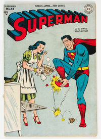 Superman #51 (DC, 1948) Condition: VG/FN