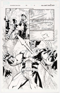 Rodney Buchemi and Reilly Brown Incredible Hercules #139 Story Page 10 Original Art (Marvel Comics, 2010)