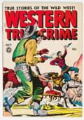 Golden Age (1938-1955):Western, Western True Crime #16 (#2) (Fox Features Syndicate, 1948) Condition: FN+....