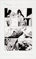 Original Comic Art:Panel Pages, Charles Adlard The Walking Dead #64 Story Page 20 Original Art (Image Comics, 2009)....