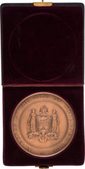 """Miscellaneous:Ephemera, The John Scott Medal Awarded to John Presper Eckert Jr. in 1961 """"For The Invention Of The First Large Scale Electronic Comput..."""