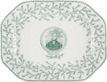 Political:3D & Other Display (pre-1896), William Henry Harrison: Rare Portrait Meat Platter....