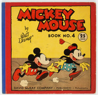 Mickey Mouse Book 4 (David McKay Publications, 1934) Condition: VG/FN
