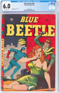 Golden Age (1938-1955):Superhero, Blue Beetle #49 (Fox Features Syndicate, 1947) CGC FN 6.0 Off-white pages....