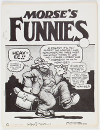 Morse's Funnies #1 First Version with Signed Certificate of Authenticity (Albert Morse, 1974) Condition: VF/NM