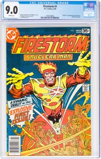 Firestorm #1 (DC, 1978) CGC VF/NM 9.0 White pages