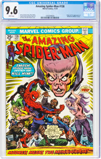 The Amazing Spider-Man #138 (Marvel, 1974) CGC NM+ 9.6 White pages