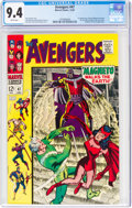Silver Age (1956-1969):Superhero, The Avengers #47 (Marvel, 1967) CGC NM 9.4 White pages....