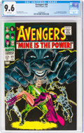 Silver Age (1956-1969):Superhero, The Avengers #49 (Marvel, 1968) CGC NM+ 9.6 White pages....
